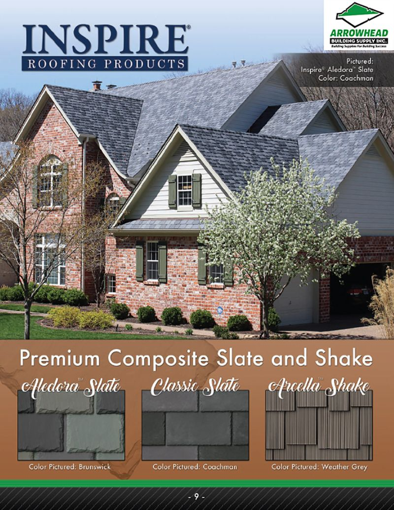Roofing Materials And Shingles To Buy Arrowhead Building Supply Roofing Building House Styles