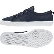 f4b062cc9b8f0 ADIDAS ORIGINALS NIZZA LO TRAINERS FOR MEN IN NAVY NAVY WHITE - ADIDAS  ORIGINALS - MelMorgan Sports