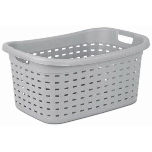 Sterilite Basket Laundry Weave Cement Walmart Com In 2020