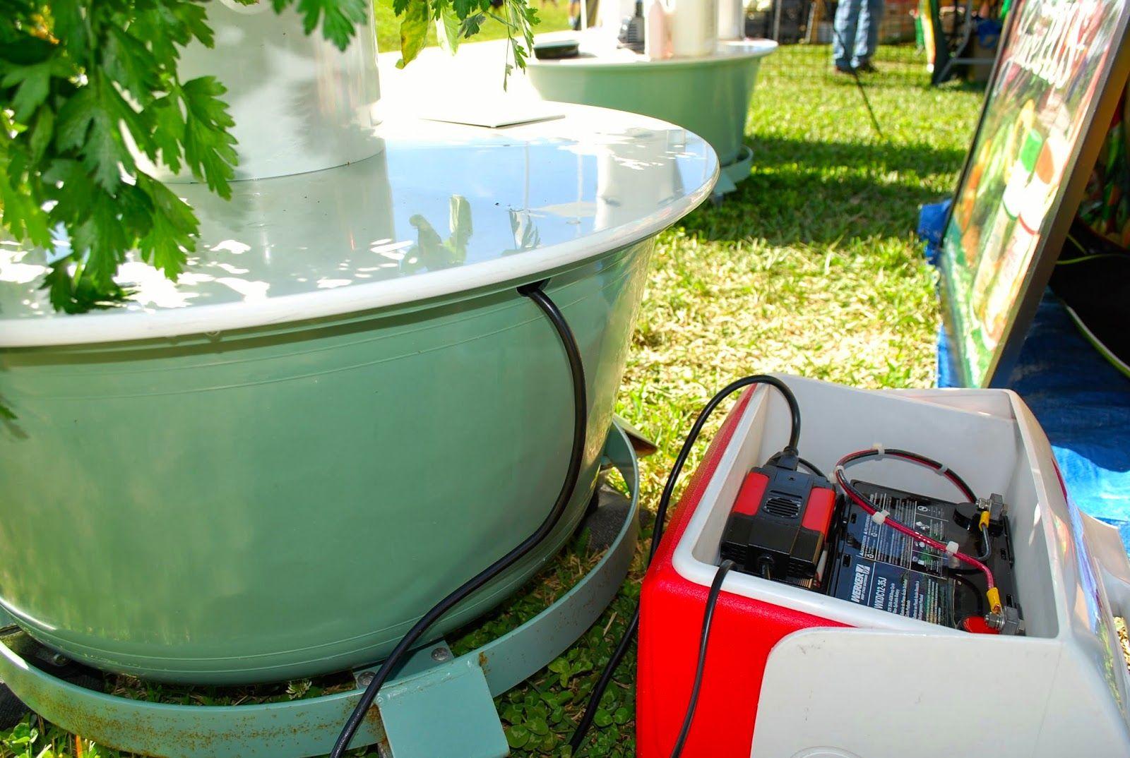 Helen A. Lockey Solar Powered Aeroponic Tower Garden by