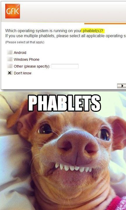 phteven - phablets, our very own take on the phteven franchise!