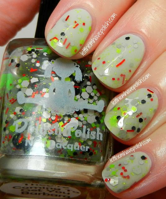Dollish Polish Halloween Frights Collection Swatches   Nails ...