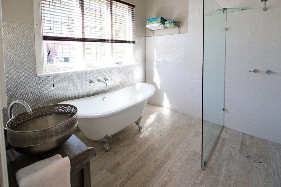House Rules Bathroom Tiles From Beaumont Wood Essence White Gl Porc Rect