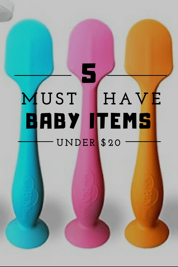 5 must have baby items under 20 Baby items