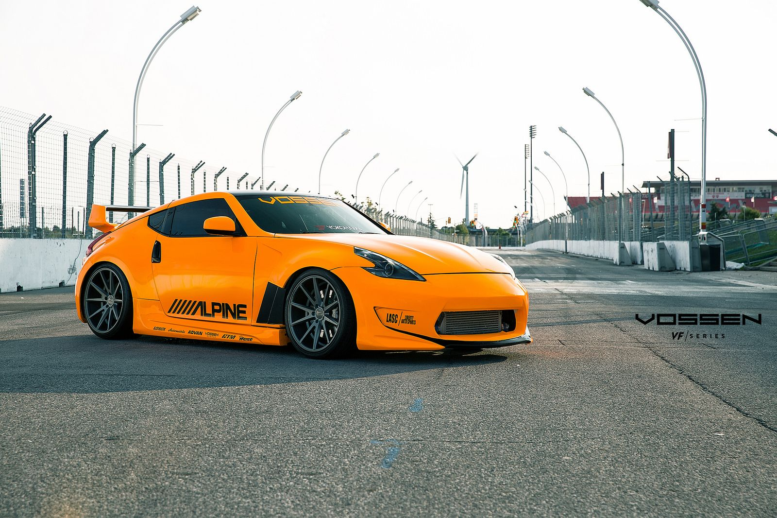 Amuse TT Nissan 370Z - Vossen VFS1 - Matte Graphite | Flickr - Photo Sharing!
