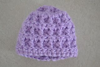 9545eeca4 Free angel baby hat crochet pattern - Instructions to make it bigger ...