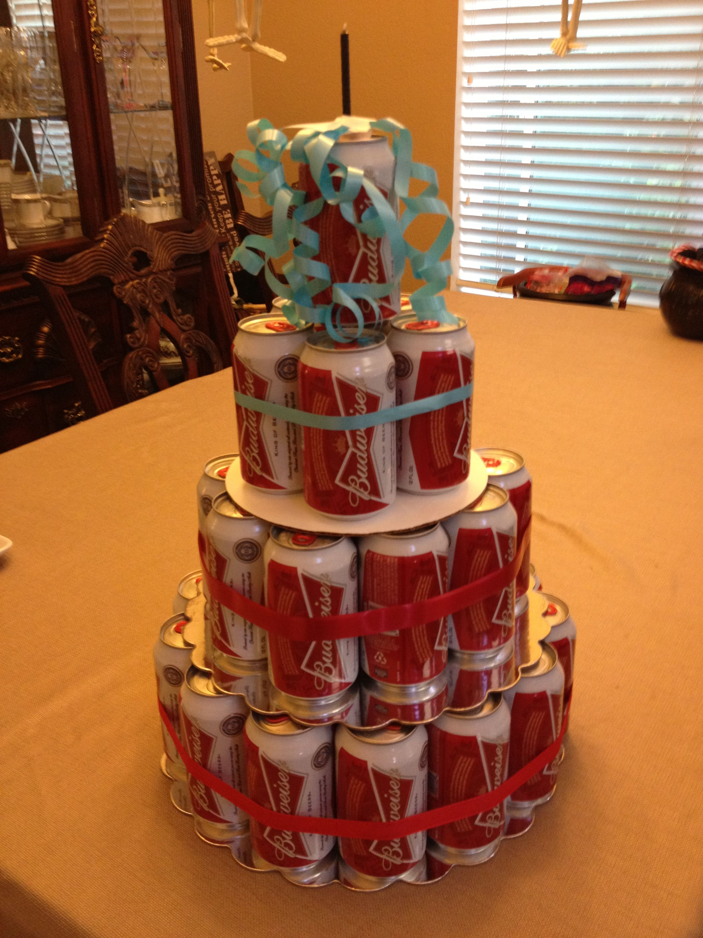 Beer cake for dads birthday beer cake cake family
