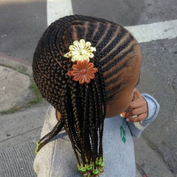 Braids And Beads Hairstyles Black Girls Hair Styles Lil