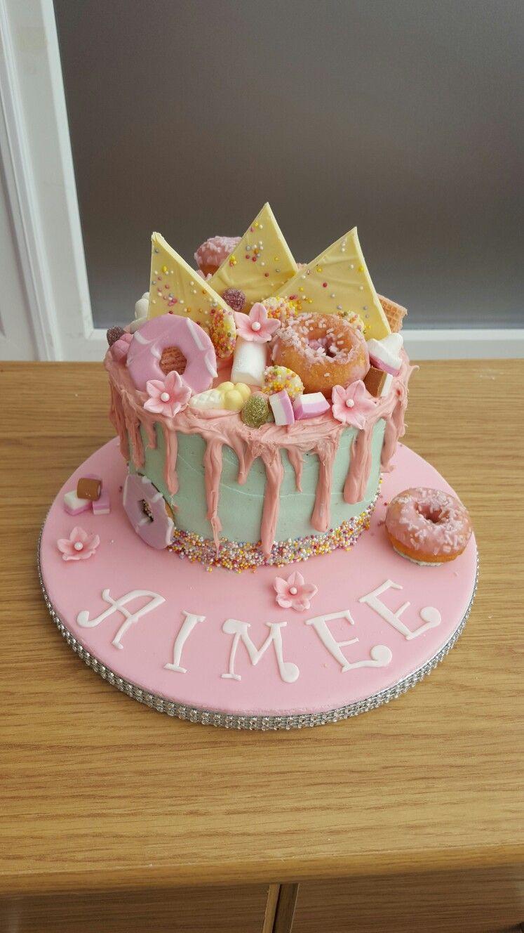 Prime Pink Sweet Overload Cake Cake Cupcake Cakes Desserts Personalised Birthday Cards Xaembasilily Jamesorg