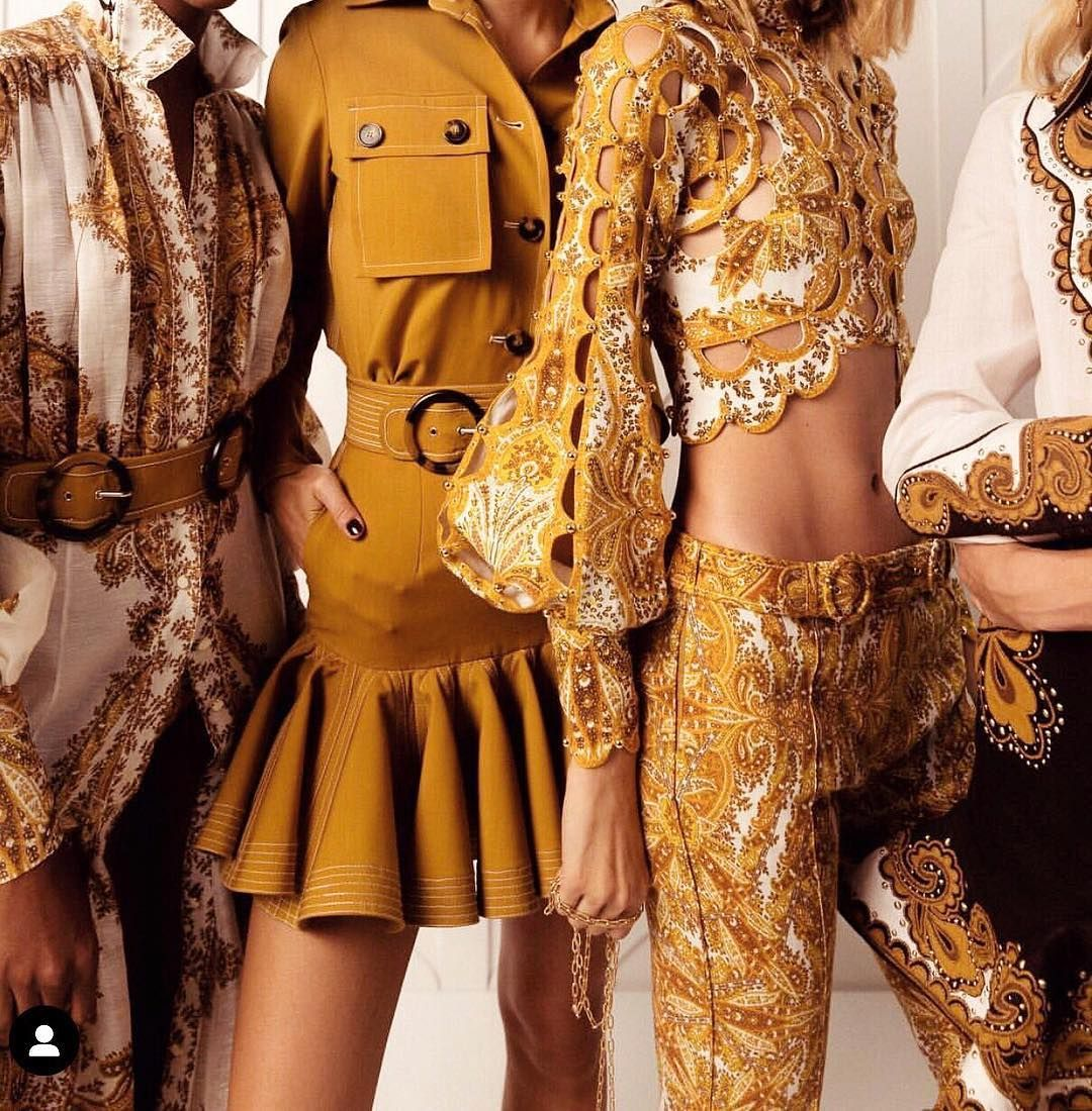 Designed To Perfection Zimmermann Advertisement Werbung Cause Brand Is Mentioned Dresses Zimmerman Dress Yellow Lace
