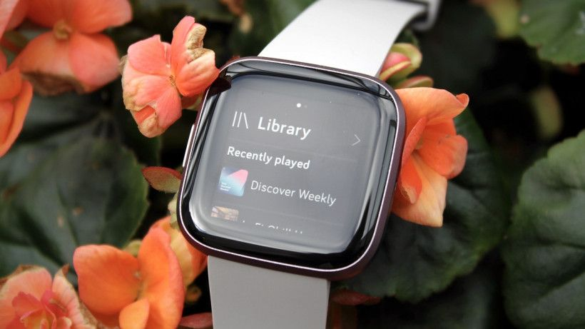 Fitbit and spotify how to download the app and play music