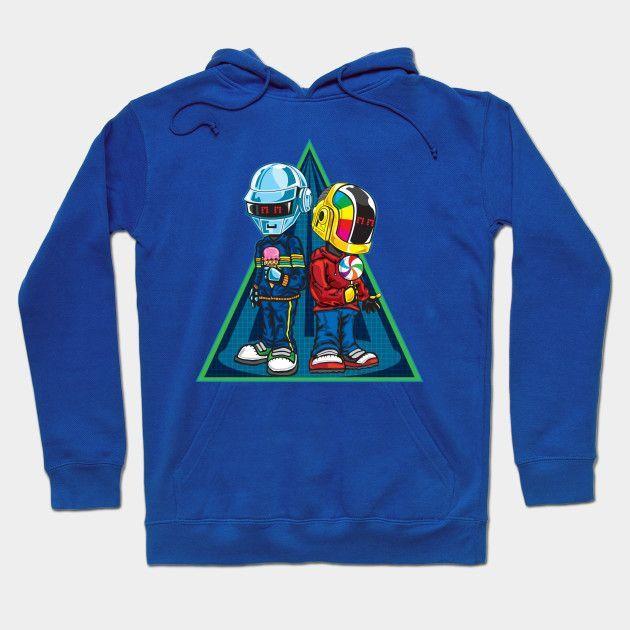Daft Punk Kids Hoodie
