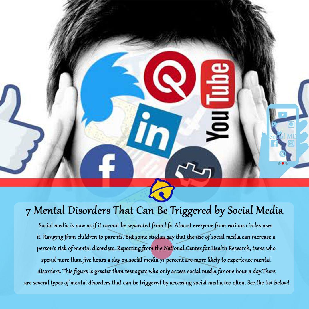 Pin di social media mental health