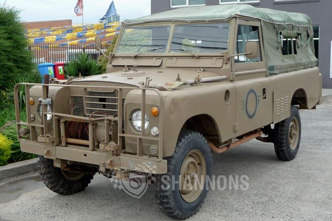 1978 Land Rover Series 3 Ex Army Utility