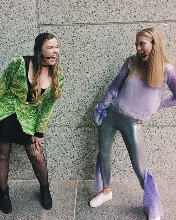 8 Halloween Costumes For A Brunette And A Blonde Blonde