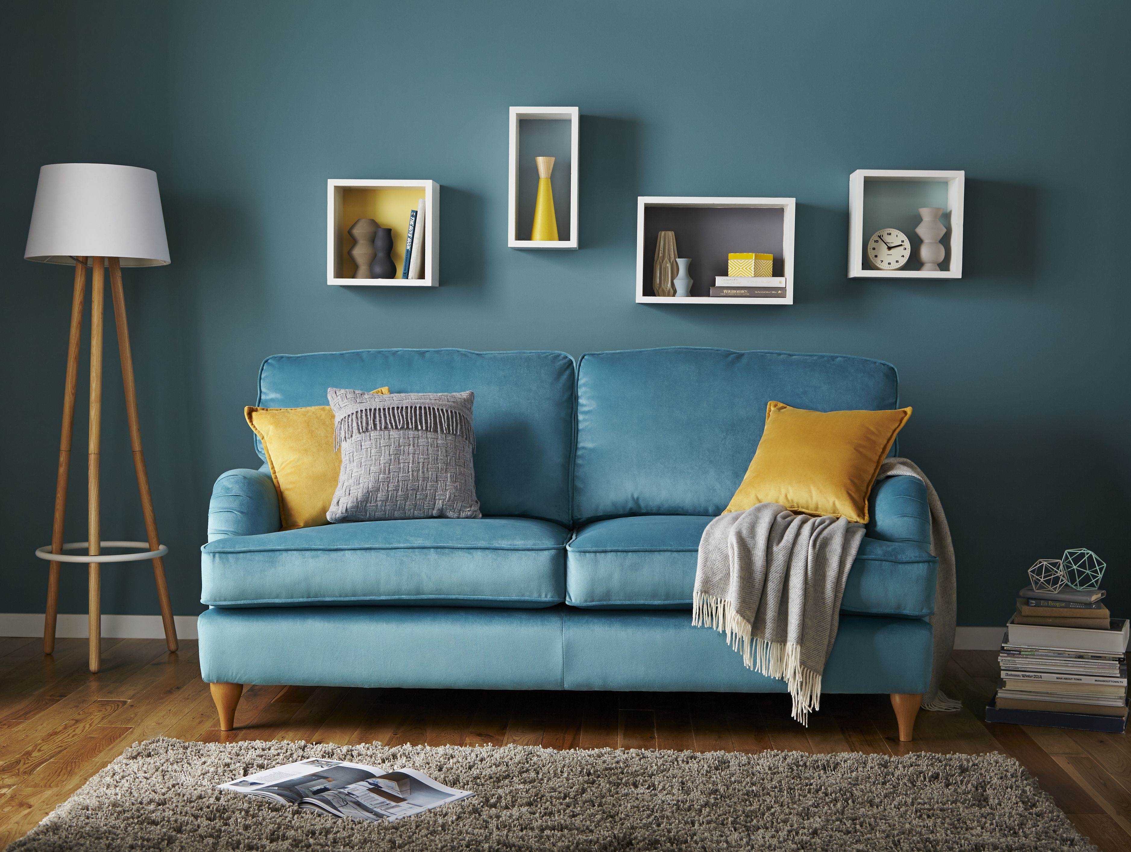 Sterling | 3 seater sofa This beautifully proportioned sofa feels ...