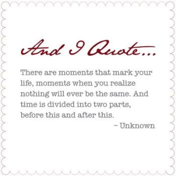 Moments..