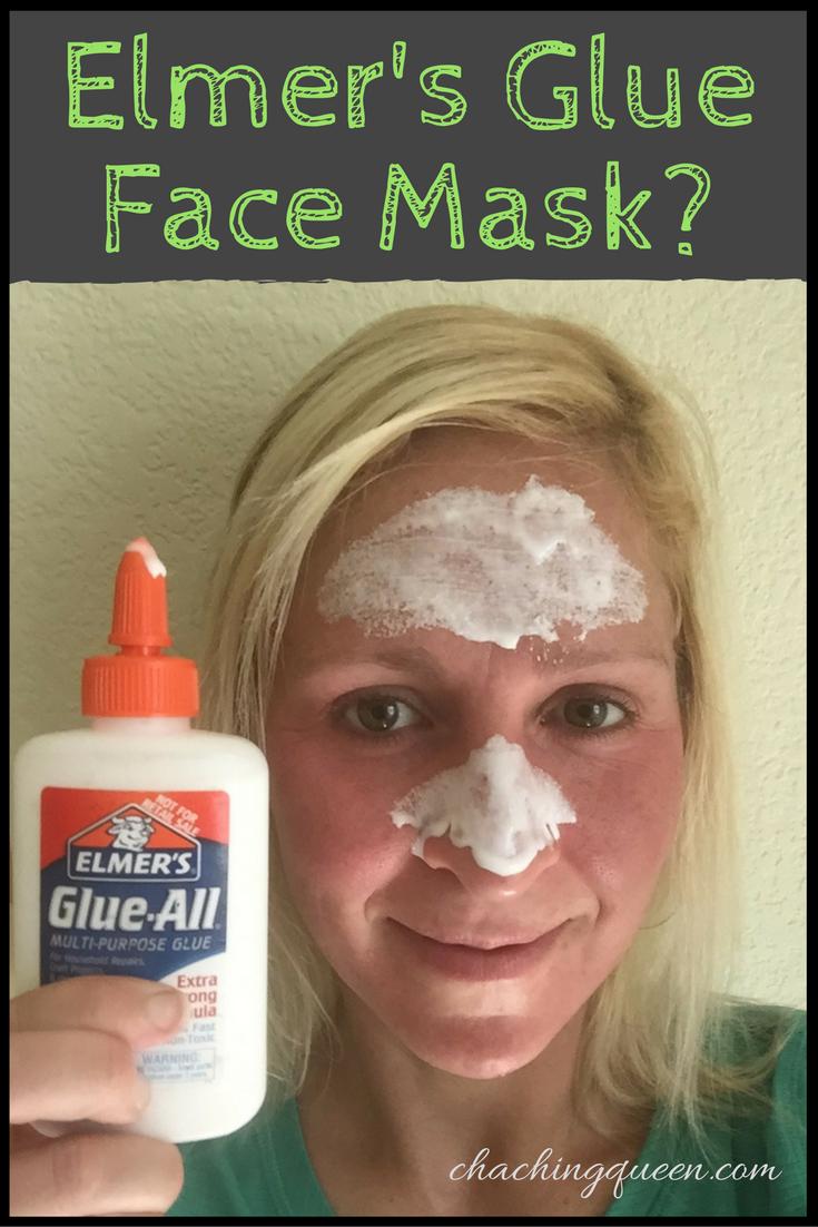 School Glue Facial? - Elmers Glue Face Mask Review | Bold Lifestyle ...