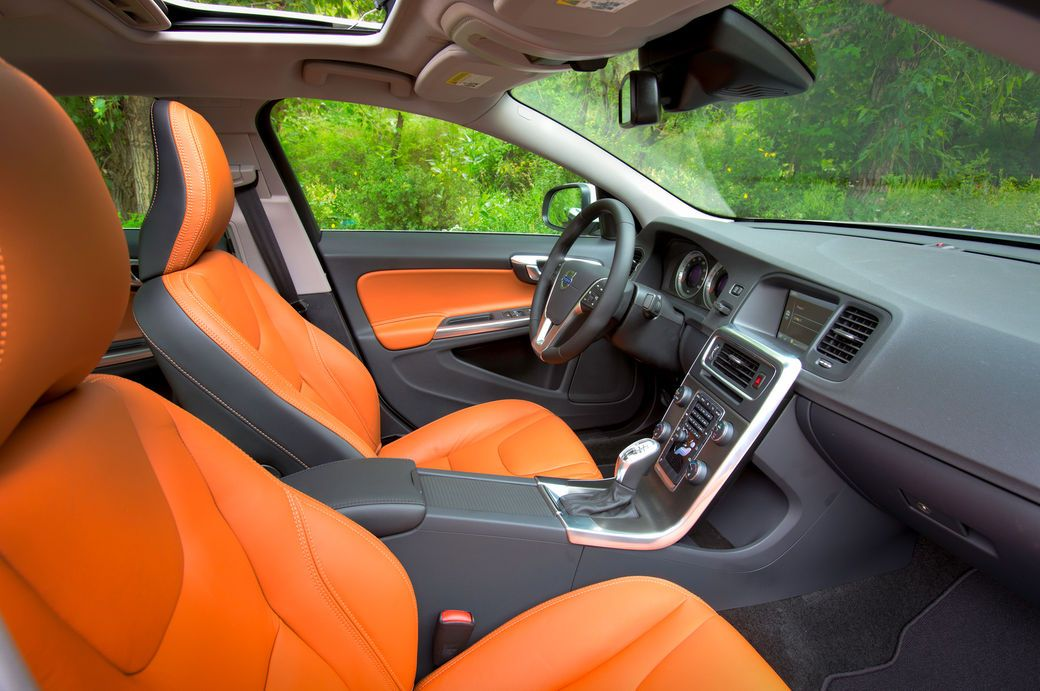 2013 volvo s60 orange black grey seats door panels interior auto addiction interiors. Black Bedroom Furniture Sets. Home Design Ideas