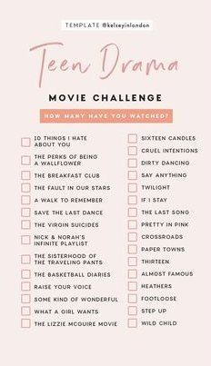 movies to watch list teenagers