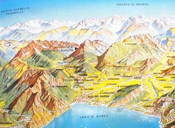 Trentino Alto Adige map Italy Northeast Pinterest Italy