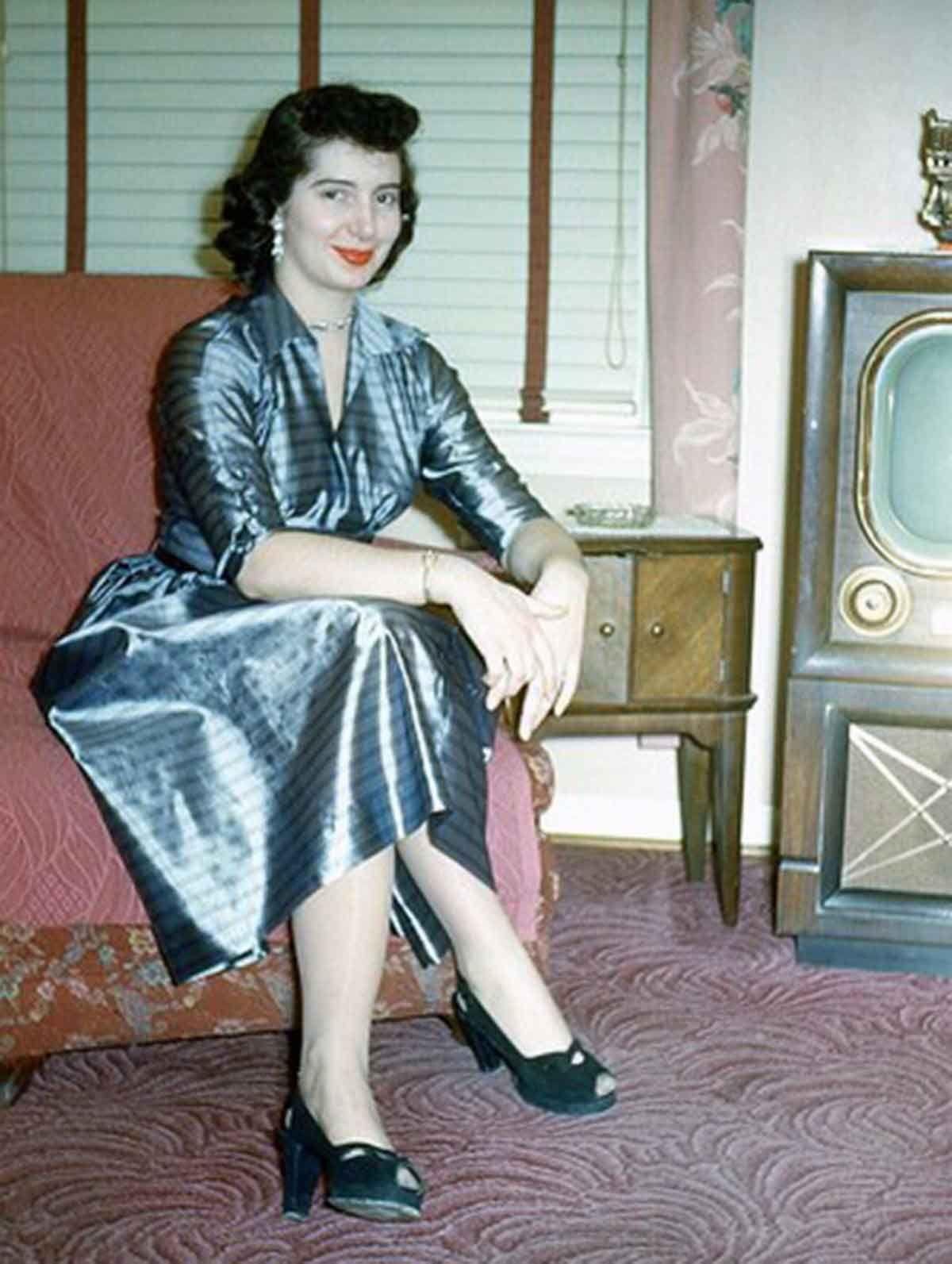 Vintage Kodachrome girls