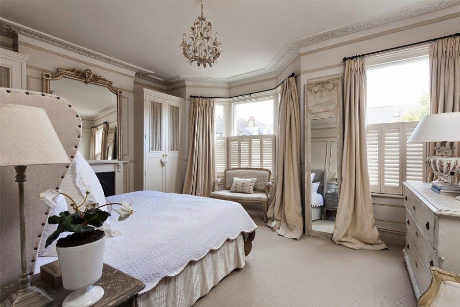 Francuska Elegancja Z Nutka Romantyzmu Country Modern Home Country House Interior Victorian Homes