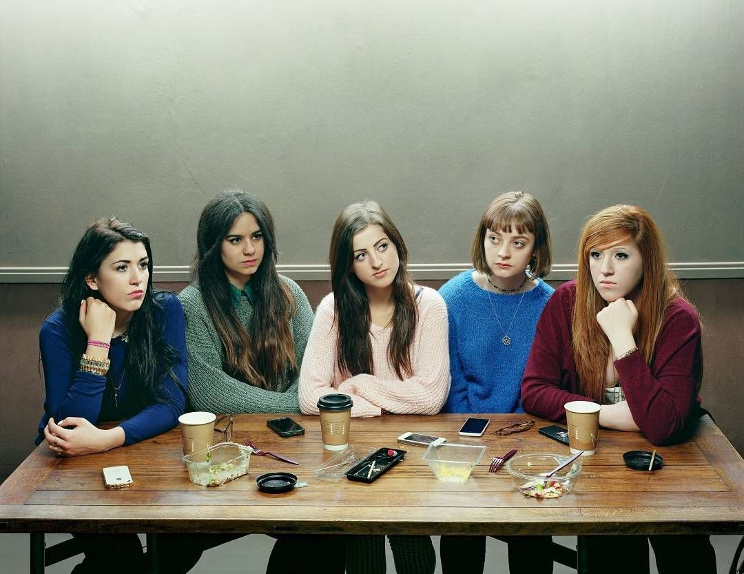 Five Girls David Stewart: winner of the Taylor Wessing Photographic Portrait Prize. See more fantastic portraits at the @NationalPortraitGallery exhibition which we gave  before it closes this Sunday! (Psst: it's just 4.) by timeoutlondon