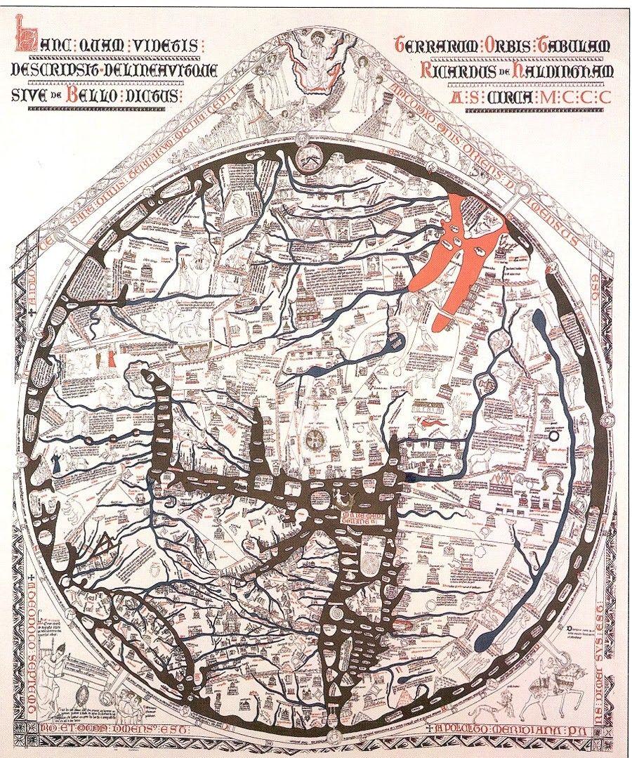 """""""Hereford Mappa Mundi""""."""