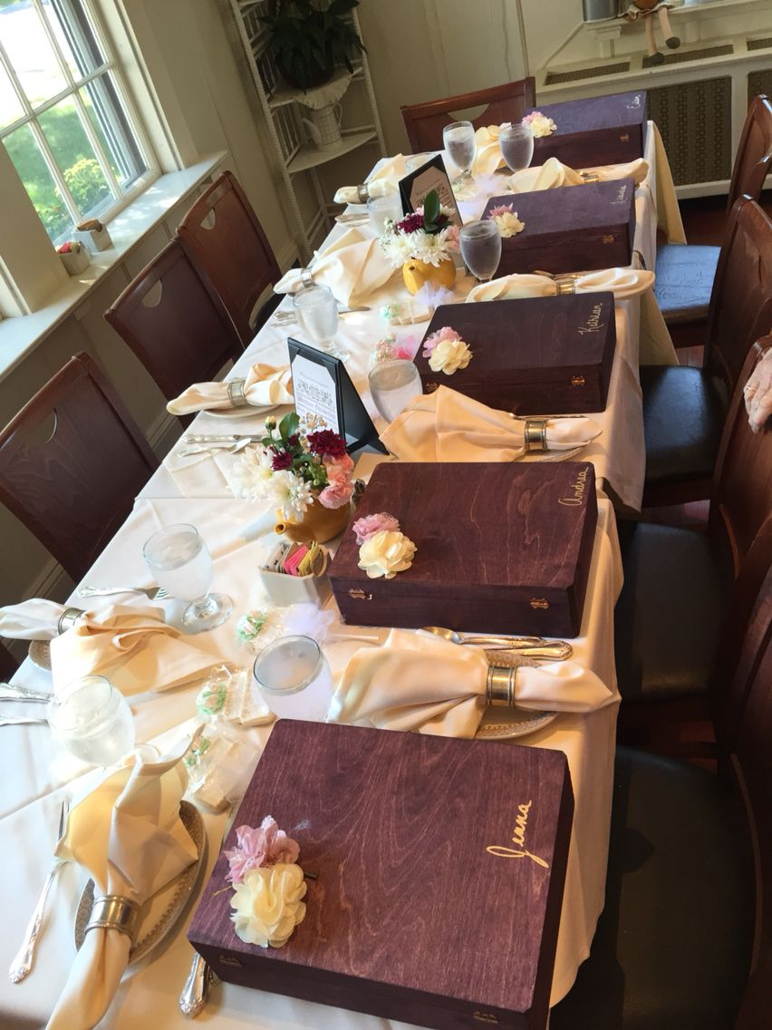 Bridesmaids boxes