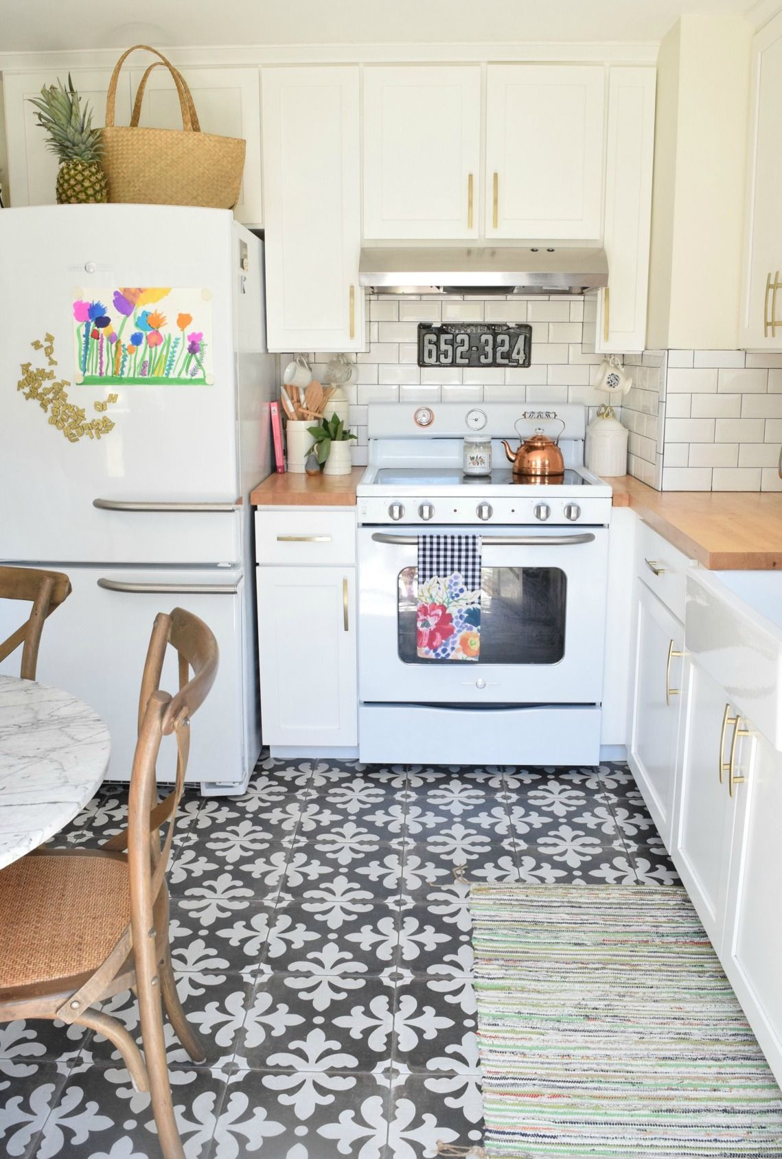 Tile N Decor Summer Home Tour And Seasonal Decor Changes  Kitchen Updates
