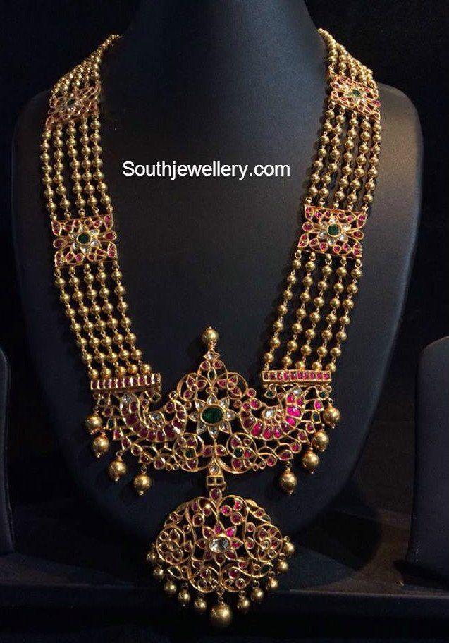 Antique Peacock Haram Photo Jewelry Fashion Jewelry Indian Jewelry