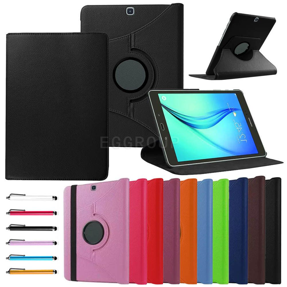 huge discount 0aeb0 75290 $6.88 - Rotating Leather Cover Case Fr Samsung Galaxy Tablet Tab A6 ...