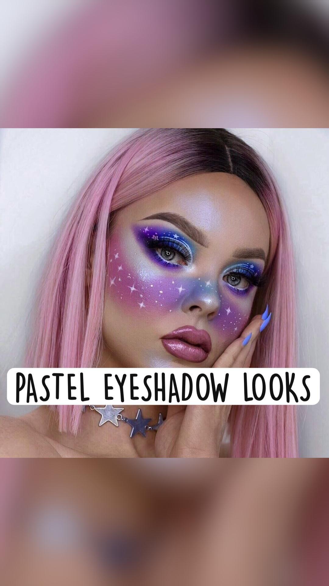 PASTEL EYESHADOW LOOKS