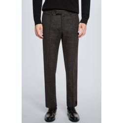 Photo of Pants Kynd, brown-anthracite patterned Strellson