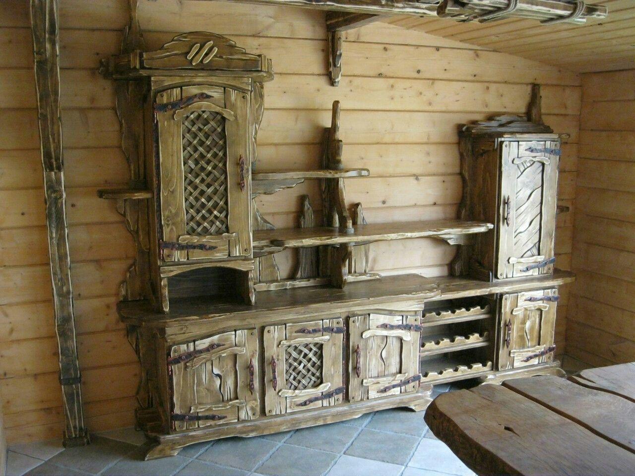 Pin de sdv en мебель | Pinterest | Muebles rústicos, Lugares ...