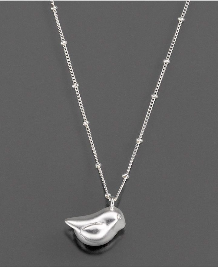 Fossil chubby bird pendant chubby birds pinterest fossils fossil brand necklace silvertone chubby bird nw t very cute mozeypictures Gallery