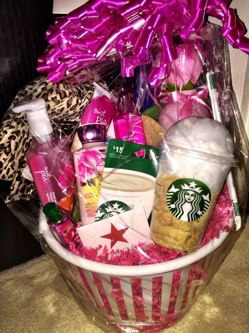 Mom Birthday Gift Basket Baskets For