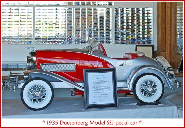 *PEDAL CAR ~ 1935 Duesenberg pedal car by sjb4photos, via Flickr