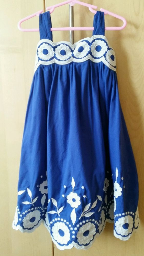 Mini Boden Girls Dress Size 5-6Yr. 100% cotton. #MiniBoden #DressyEveryday