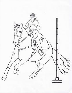 click through to get all of my free rodeo event coloring pages - Rodeo Coloring Pages