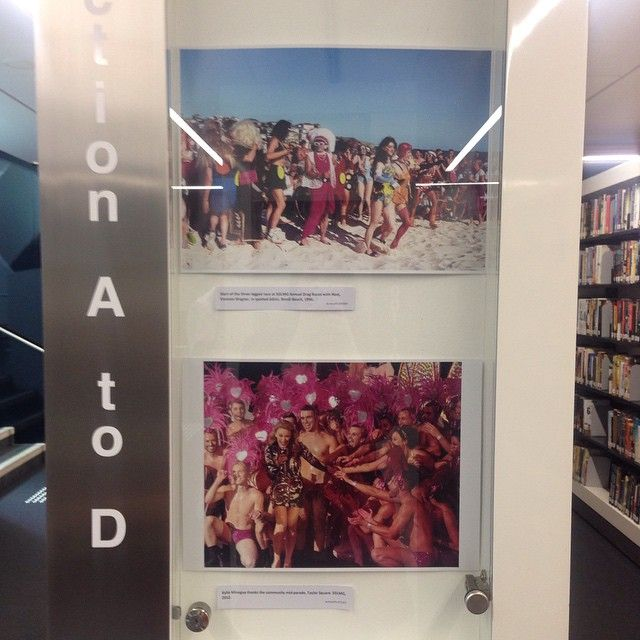 A fantastic archive of Sydney Mardi Gras photographs by C.Moore Hardy currently on view at Surry Hills Public Library