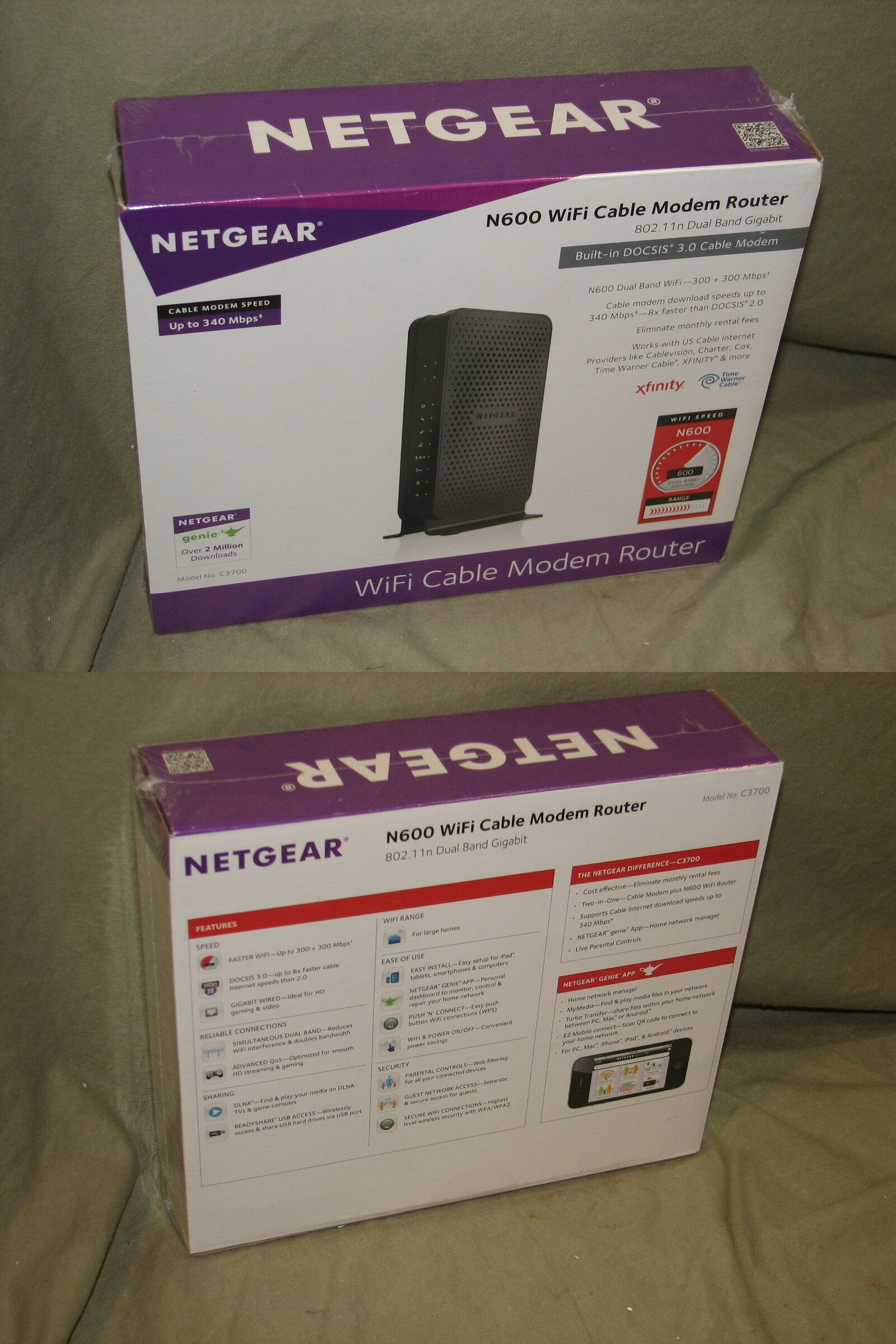 how to set up comcast internet with netgear router