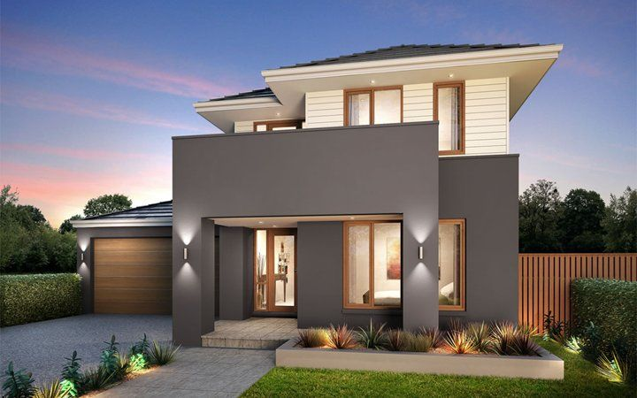 metricon home designs the winchester kingston facade