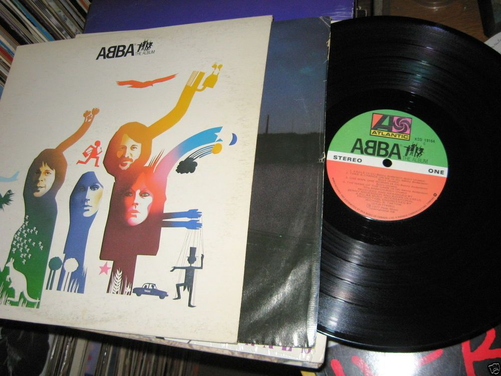 ABBA - The Album CANADA 1977 Lp vg+ mit/Inner