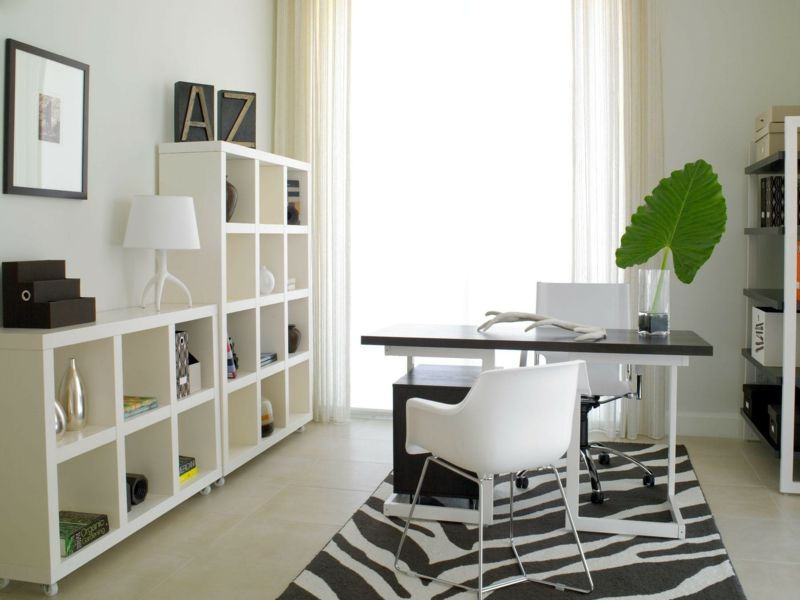 Wandfarbe Arbeitszimmer ~ Home office with photographers tripod floor lamp home office
