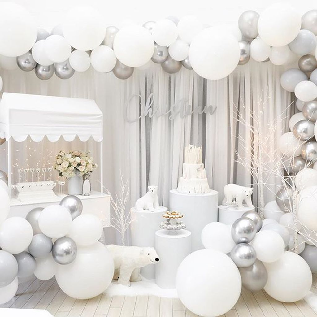 32 Awesome Winter Wonderland Party Decorations Ide