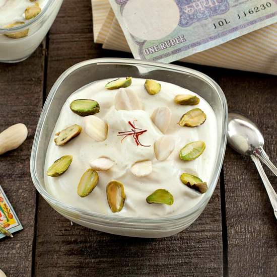 shrikhand is a rich source of calcium phosphorus vitamins b1 b2 and b12 enjoy multiple health benefits of it by making it at home to avoid adulteration