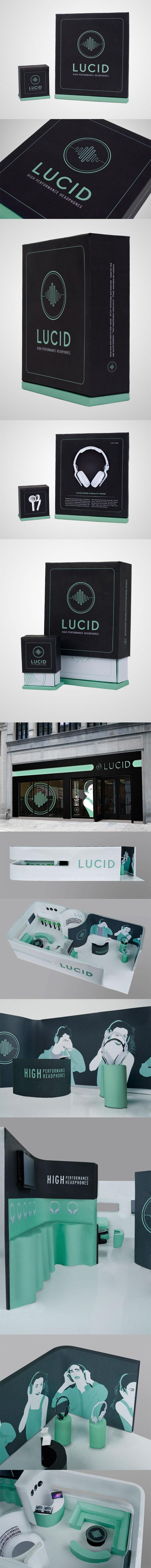 Lucid via Behance #packaging #branding #marketing PD