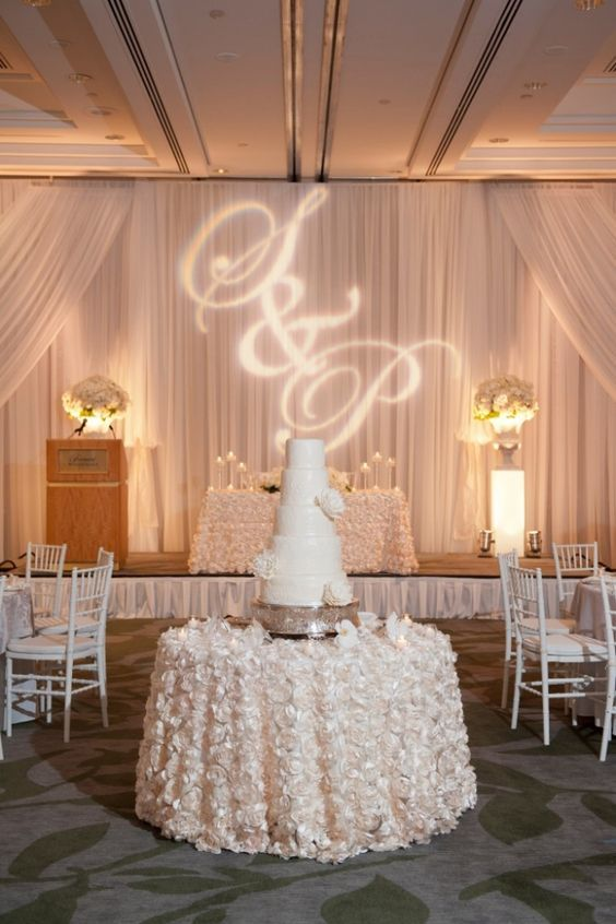 Wedding Reception Inspiration Cake Table Reception And